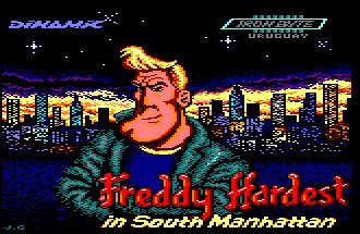 Pantallazo de Freddy Hardest 2 : In South Manhattan para Amstrad CPC