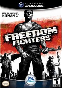 Caratula de Freedom Fighters para GameCube