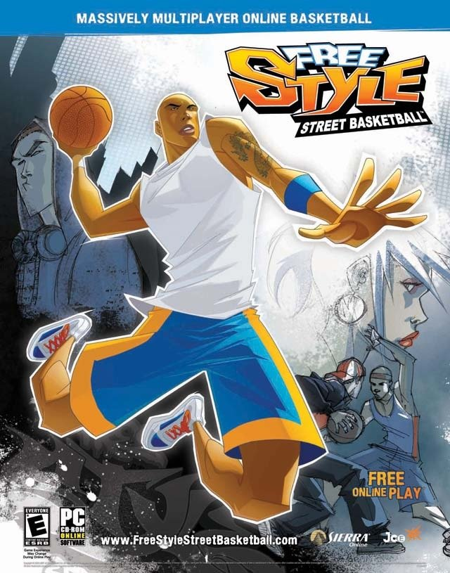 Caratula de Freestyle Street Basketball para PC
