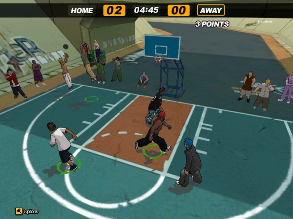 Pantallazo de Freestyle Street Basketball para PC