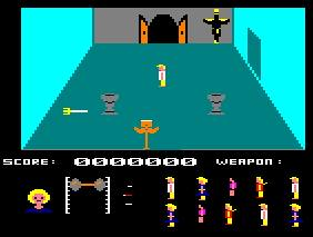 Pantallazo de Friday The 13th para Amstrad CPC