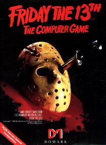 Caratula de Friday the 13th para Commodore 64