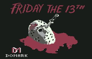 Pantallazo de Friday the 13th para Commodore 64