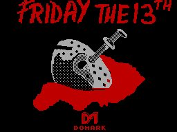 Pantallazo de Friday the 13th para Spectrum