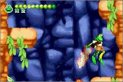 Pantallazo de Frogger Advance: The Great Quest para Game Boy Advance