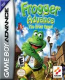 Caratula nº 22407 de Frogger Advance: The Great Quest (500 x 500)