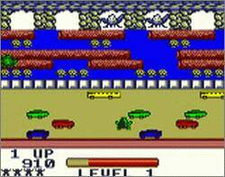 Pantallazo de Frogger para Game Boy Color