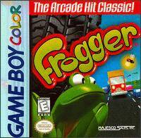 Caratula de Frogger para Game Boy Color