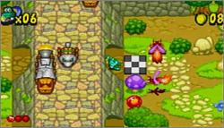 Pantallazo de Frogger's Adventures: Temple of the Frog para Game Boy Advance