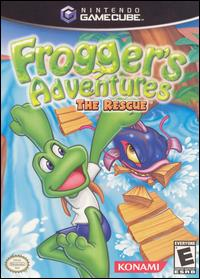 Caratula de Frogger's Adventures: The Rescue para GameCube