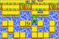 Pantallazo de Frogger's Adventures 2: The Lost Wand para Game Boy Advance