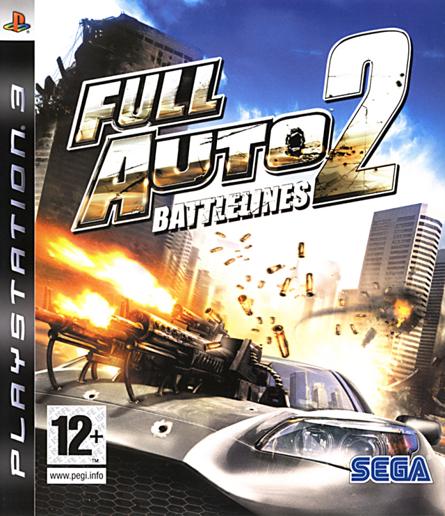 Caratula de Full Auto 2: Battlelines para PlayStation 3