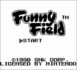 Pantallazo de Funny Field para Game Boy
