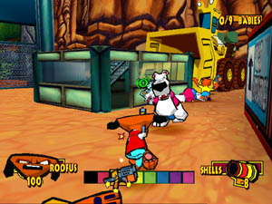 Pantallazo de Fur Fighters para PC
