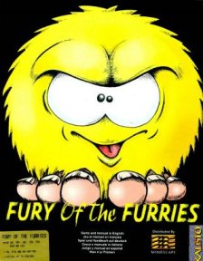 Caratula de Fury Of The Furries para Amiga