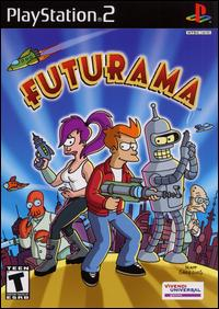 Caratula de Futurama para PlayStation 2