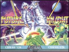 Caratula de Future Knight para Commodore 64