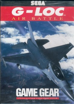 Caratula de G-LOC: Air Battle para Gamegear