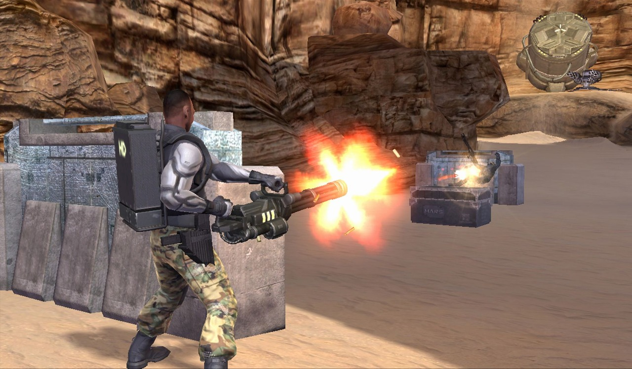 Pantallazo de G.I. Joe: The Rise of the Cobra para PlayStation 3