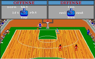 Pantallazo de GBA Championship Basketball: Two-on-Two para Atari ST