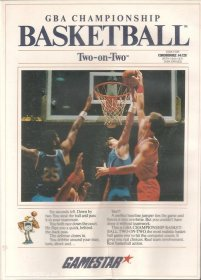 Caratula de GBA Championship Basketball: Two-on-Two para Atari ST