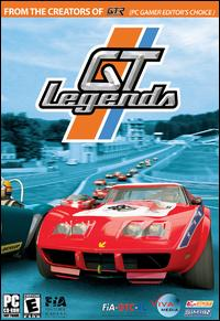 Caratula de GT Legends [Retail Box] para PC