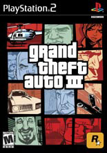 Caratula de GTA III - Grand Thef Auto III para PlayStation 2