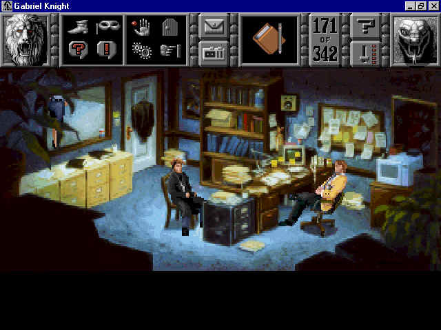 Pantallazo de Gabriel Knight: Sins of the Fathers para PC