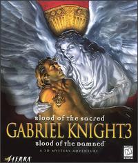Caratula de Gabriel Knight 3: Blood of the Sacred, Blood of the Damned para PC