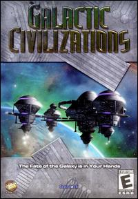 Caratula de Galactic Civilizations (2002) para PC