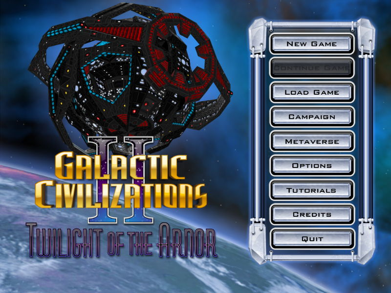 Pantallazo de Galactic Civilizations 2: Twilight of the Arnor para PC