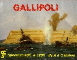 Caratula de Gallipoli para Spectrum
