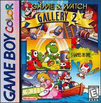 Caratula de Game & Watch Gallery 2 para Game Boy Color