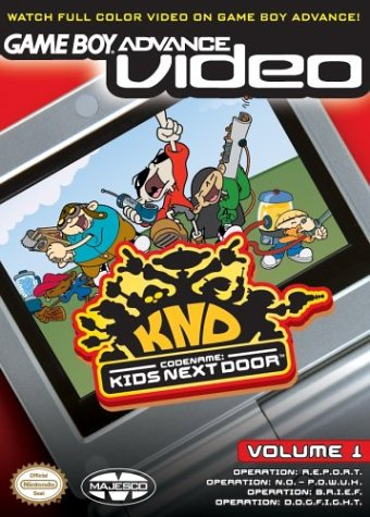 Caratula de Game Boy Advance Video: Codename -- Kids Next Door Vol. 1 para Game Boy Advance