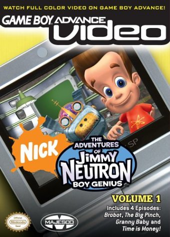 Caratula de Game Boy Advance Video: The Adventures of Jimmy Neutron, Boy Genius Vol. 1 para Game Boy Advance