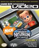 Caratula nº 23986 de Game Boy Advance Video: The Adventures of Jimmy Neutron, Boy Genius Vol. 1 (340 x 475)