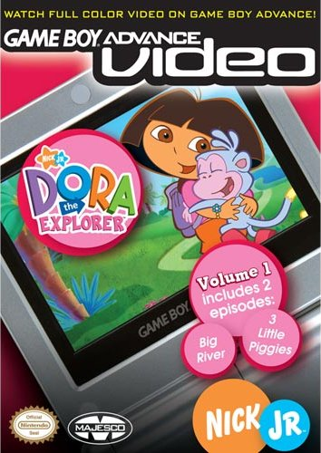 Caratula de Game Boy Advanced Video - Dora the Explorer - Volume 1 para Game Boy Advance