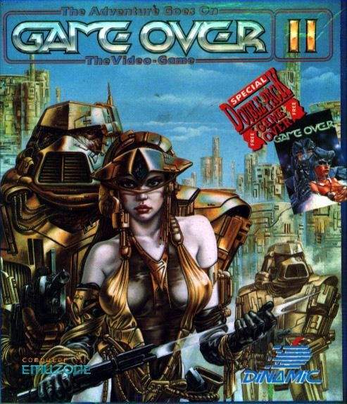 Caratula de Game Over II para Atari ST