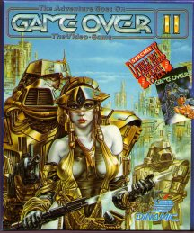 Caratula de Game Over II para Commodore 64