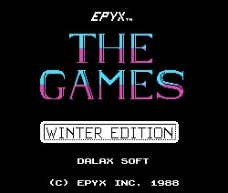 Pantallazo de Games Winter Edition, The para MSX