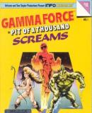 Caratula nº 62674 de Gamma Force in Pit of a Thousand Screams (256 x 288)