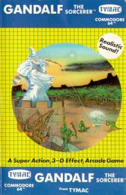 Caratula de Gandalf the Sorcerer para Commodore 64