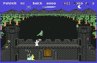 Pantallazo de Gandalf the Sorcerer para Commodore 64