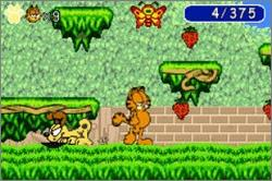 Pantallazo de Garfield: The Search for Pooky para Game Boy Advance