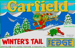 Pantallazo de Garfield: Winter's Tail para Atari ST