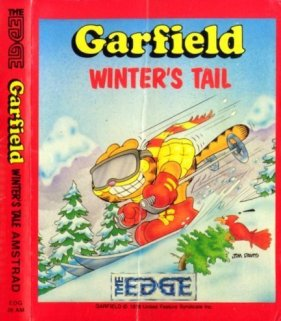 Caratula de Garfield: Winter's Tail para Amstrad CPC