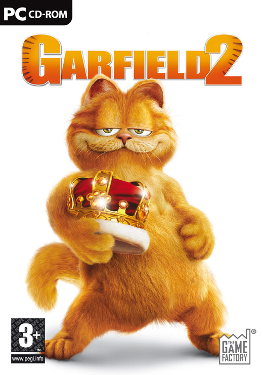 Caratula de Garfield 2 (A Tale of Two Kitties) para PC
