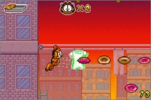 Pantallazo de Garfield and His Nine Lives para Game Boy Advance
