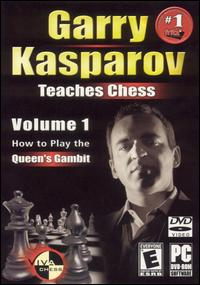 Caratula de Garry Kasparov Teaches Chess: Volume 1 -- How to Play the Queen's Gambit para PC