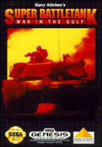 Caratula de Garry Kitchen's Super Battletank: War in the Gulf para Sega Megadrive